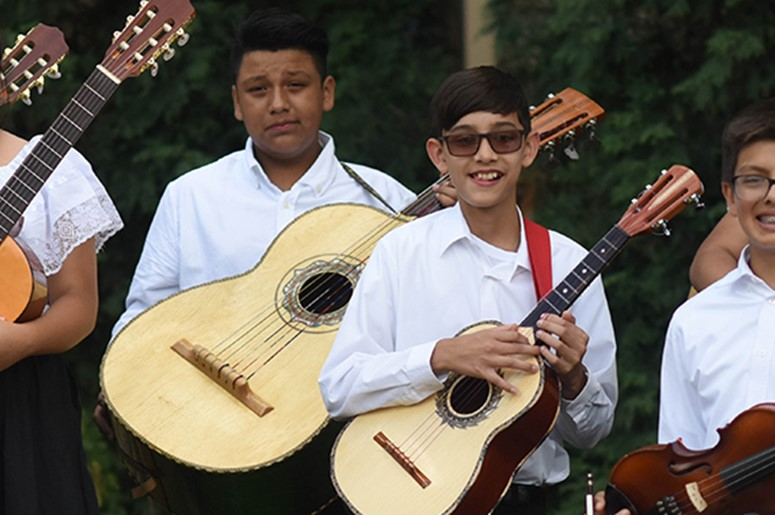 Youths in the Strings Program - Latino Arts