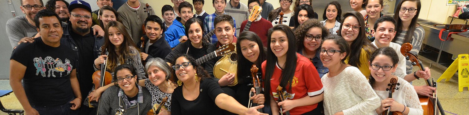 Strings Program Teachers & Students - Latino Arts